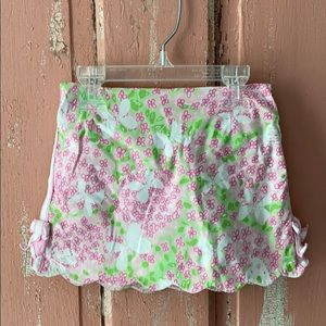 Lilly Pulitzer Size 5 Skirt With Attached Shorts